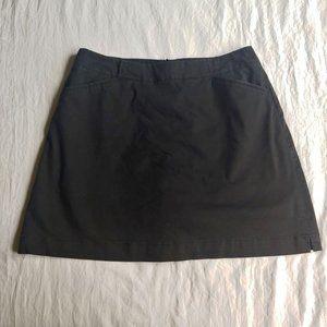 Nike Golf Dri Fit Black Skort Skirt 6 S